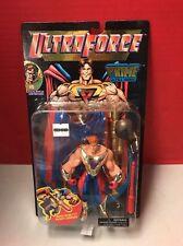 Ultra Force Prime Ultra Hero Action Figure W/ Helmet Rocket Launcher Galoob 1995