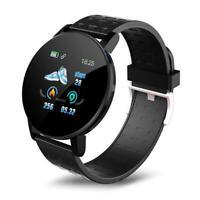 119 Plus Smart Watch Heart Rate Smart Bracelet Man Wristband Sports Watches