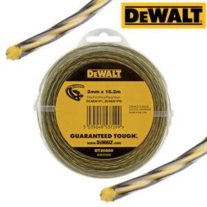 DEWALT DT20650 Strimmer Trimmer Line wire, 2mm x 15.2m