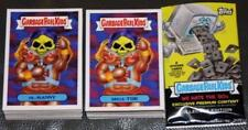 NEW 2018 GARBAGE PAIL KIDS WE HATE THE 80'S COMPLETE SET 180 CARDS + WRAPPER GPK