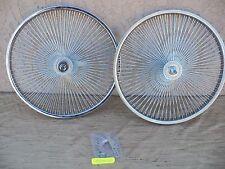 BICYCLE 20''-140 SPOKES RIM SET  FOR SCHWINN , CRUISER, CHOPPER, LOW RIDER,ETC.