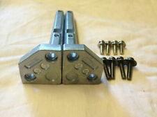 2 upright pegs and screws for TBLX0093, TBLX0095, TBLX0097 Panasonic TV stand