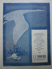 5/1928 PUB HISPANO-SUIZA MOTEUR AVIATION 600 CV COSTES LE BRIX ATLANTIQUE AD