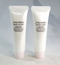 Lot/2 Shiseido White Lucent Brightening Cleansing Foam (w) ~ 1.1 oz. Each ~