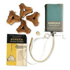 Vintage Eureka Polisher Scrubber 4 Power-Based Floated Brushes Accessories Kit