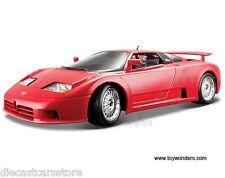 BBURAGO BUGATTI EB110 EB 110 RED 1:18 DIECAST CAR MODEL  12023