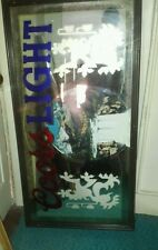 """Coors light smoked glass mirror 27"""" x 51""""- Will ship. See description for detail"""