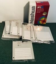 Nashua Diskettes MF2 DD New Other Box of 9 Code A Disk NEW in box