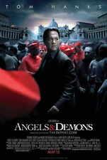 ANGELS AND DEMONS Movie POSTER 27x40 B Tom Hanks Ayelet Zurer Ewan McGregor