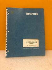 Tektronix 070-5055-00 214 Oscilloscope Service Instruction Manual