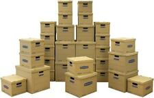 Bankers Box SmoothMove Classic Moving Kit Boxes, Tape-Free Assembly, Easy Carry