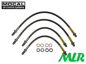 MOCAL TRIUMPH SPITFIRE MK3 STAINLESS STEEL BRAIDED BRAKE LINES HOSES PIPES