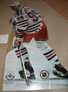 Wayne Gretzky Upper Deck Life Size Cardboard Cutout