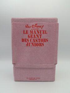 Le Manuel Géant Des Castors Juniors - Livre - Picsou - Disney 1983