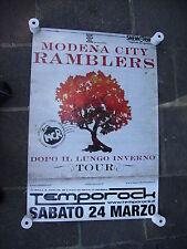 MODENA CITY RAMBLERS - MANIFESTO CONCERTO 24.03.2007 TEMPOROCK CM 65X95
