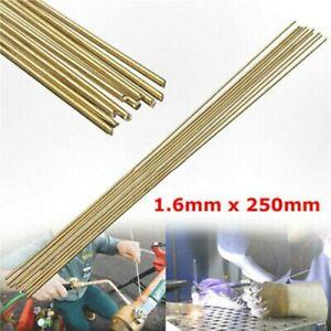 Tin Bronze Welding Rod  Wire Brazing Easy Melt Solder Low-Temperature Brass 10x