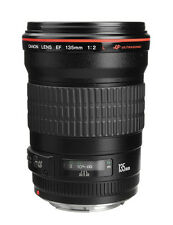 Canon EF 135mm F2 L USM Telephoto Lens - Fedex to USA