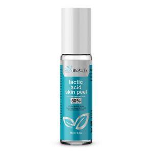 Lactic Acid 50% Roll-On Peel SPOTS Acne Wrinkles Blackheads Large Pores