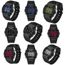 SANDA Men Women LED Waterproof Fashion Digital Military Luxury Sports Date Watch
