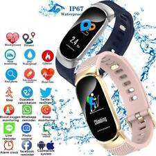 Smart Watch Tracker Fitness Blood Pressure Heart Rate For Android iOS Waterproof