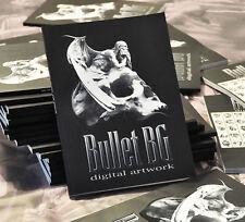 Bullet BG / Digital Artwork / book / 50 tattoo projects