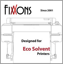 "Fixxons Crystal Clear Display Film for Roland Eco Solvent Printers 36"" x 100'"