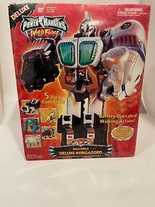 Power Rangers Wildforce Deluxe Kongazord Open Box COMPLETE