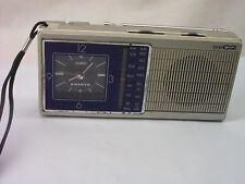 Vintage SANYO RPM-C2 Clock AM / FM Transistor Radio