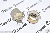 1pcs - 7 Pin Mini Ceramic Vacuum Tube  Socket - NOS