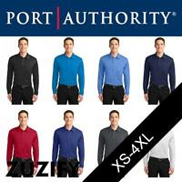 """Port Authority """"Silk Touch"""" Performance Long Sleeve Polo Shirt. K540LS"""