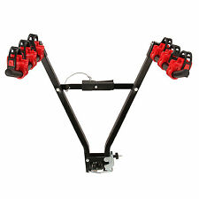 Tow Ball Bicycle Storage Parking Rack Heavy Duty For 3 Bike Carrier Tire Mount