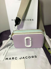 Marc Jacobs Snapshot Small Camera Bag Crossbody light purple multi sales