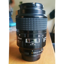 Nikon 105mm F/2.8 D Micro AF-D Prime Macro Lens Clean No Scratches On Glass