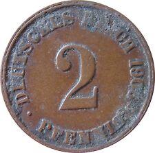 J  11   2 Pfennig KAISERREICH  1906 J in SS  1502362