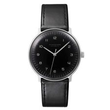 AUTHORIZED DEALER Junghans 027/3400.00 Max Bill Automatic Black Dial Watch