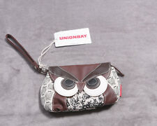 Unionbay Womens OWL Purse Handbag Wrist Strap NWT NEW