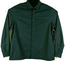 Lululemon Mens Size XXL Masons Peak Flannel Gray Obsidian Soft Long Sleeve Shirt