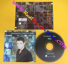 CD ALEJANDRO SANZ Mas 1997 Spain WARNER MUSIC 3984 25348 2 no lp mc dvd (CS11)