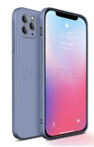 Coque Ultra Fine Iphone 12 pro uniquement souple ULTRA FIT  Bleu avec logo