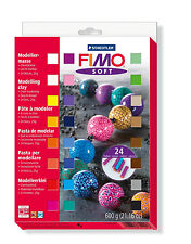 STAEDTLER FIMO Soft 8023 02 Materialpackung 24 X 25g