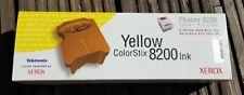 Xerox ColorStix Phaser 8200 Yellow 016-2047-00 Qty 5 Genuine Original