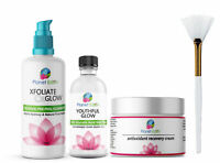 50% Glycolic Acid Skin Peel Kit + Glycolic Cleanser + Recovery Cream + BRUSH