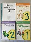Horizons Spelling and Penmanship Homeschooling Guides Grades 1-3