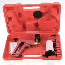 Hand Held Vacuum Brake Bleeder & Pump Garage Tester Auto Motorcycle  w/ Case Red