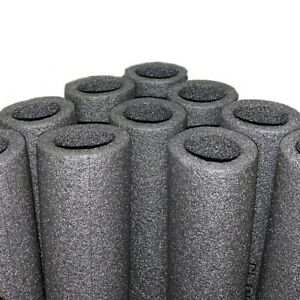 REPLACEMENT TRAMPOLINE SAFETY-NET FOAM POLE PROTECTORS (2 x 1 METER TUBES)