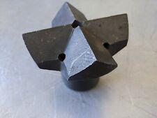 "3-1/2"" Steel Rock Drill Cross Bit with D Thread Mount"