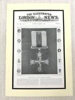 1915 WW1 Original Aufdruck The Militär Kreuz Britisch War Medal Dekoration Krim