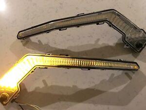 CAN AM X3 - AMBER ACCENT LIGHTS marker corner blinker pair running drl signature