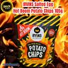 IRVINS Salted Egg Hot Spicy 🌶 Boom Boom 💥 Potato Chips 105g