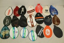 Vintage Racquetball Racquet Covers Huge Lot 80's Yonex Donnay